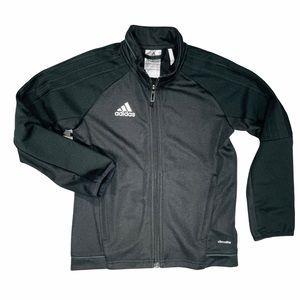 Adidas Full Zip Tricot Black on Black Jacket